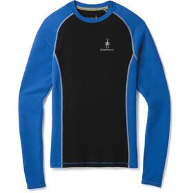 Smartwool Merino 200 Ondergoed bovenlijf Heren blauw/zwart